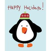 Secretly Designed Penguin Christmas by Secretly Spoiled Graphic Art