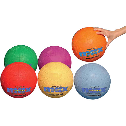 SportimeMax UniverCells Playground Ball, Set of 6
