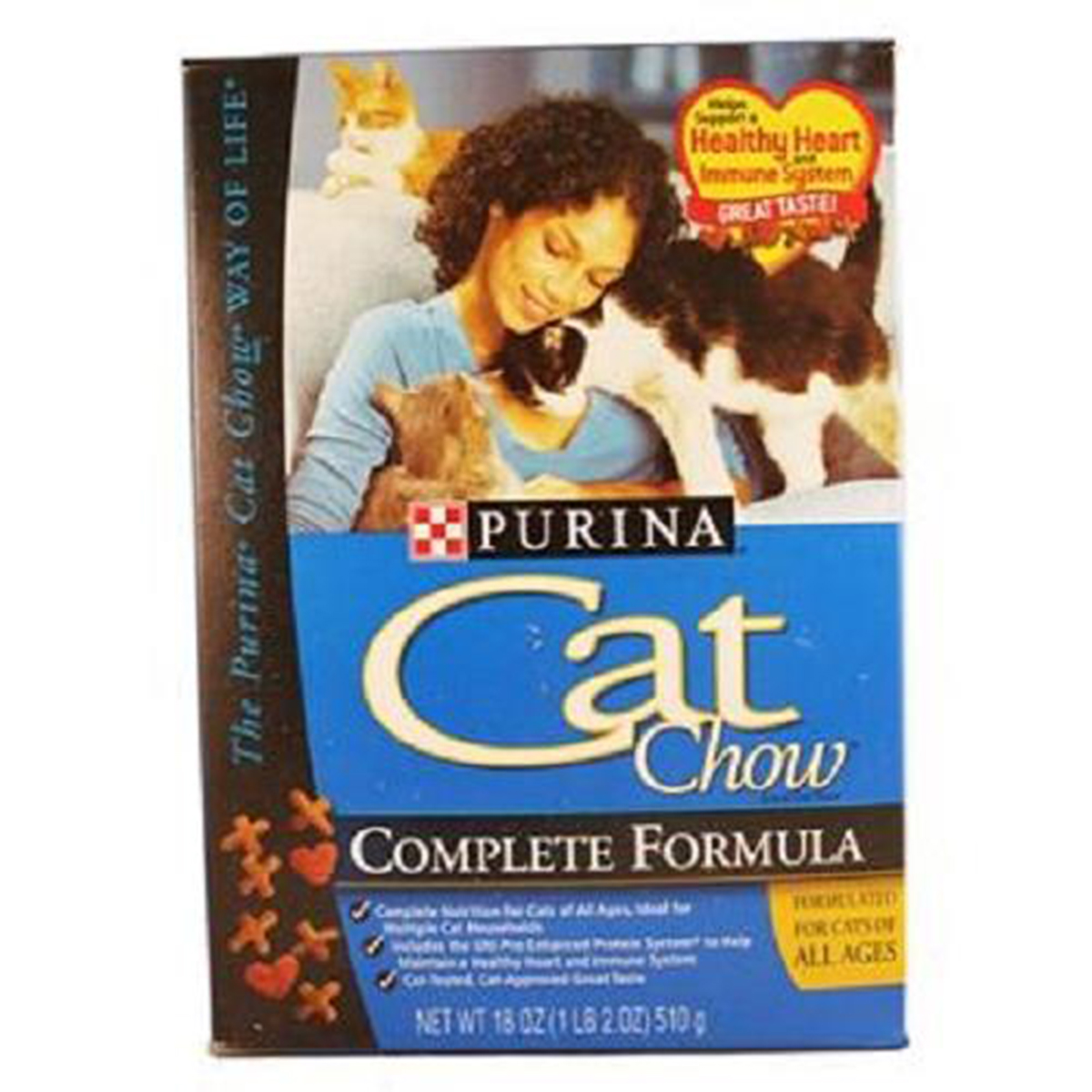 Purina Cat Chow Complete Formula, 18 oz (Pack of 1)