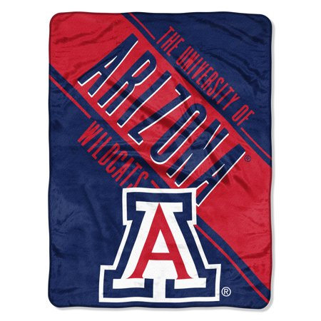 "NCAA Arizona Wildcats Section 46"" x 60"" Micro Raschel Throw, 1 Each"
