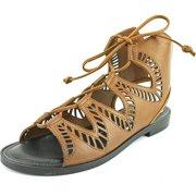 Dolce Vita Deklon   Open Toe Leather  Sandals