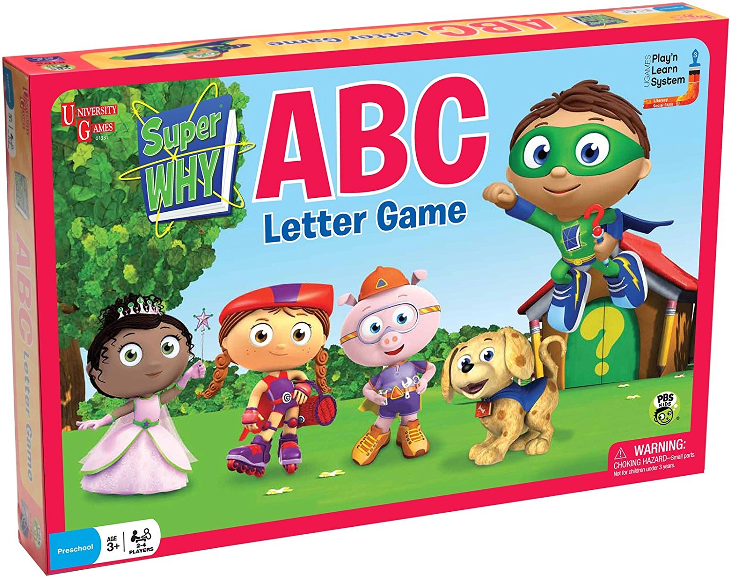 Super Why ABC Letter Game, Players practice key reading skills when they play the Super Why ABC Letter Game... by