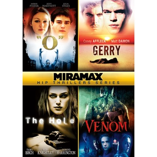"Miramax Hip Thrillers, Volume Two: ""O"" / Gerry / The Hole / Venom"