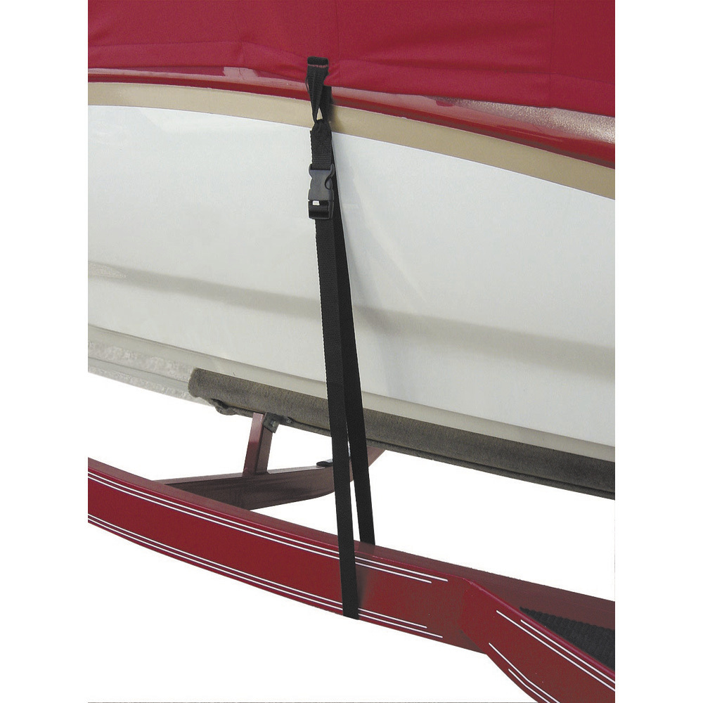 """BOATBUCKLE BOAT COVER TIE DOWN SNAP LOCK 1"""" X 4' 6 PACK"""