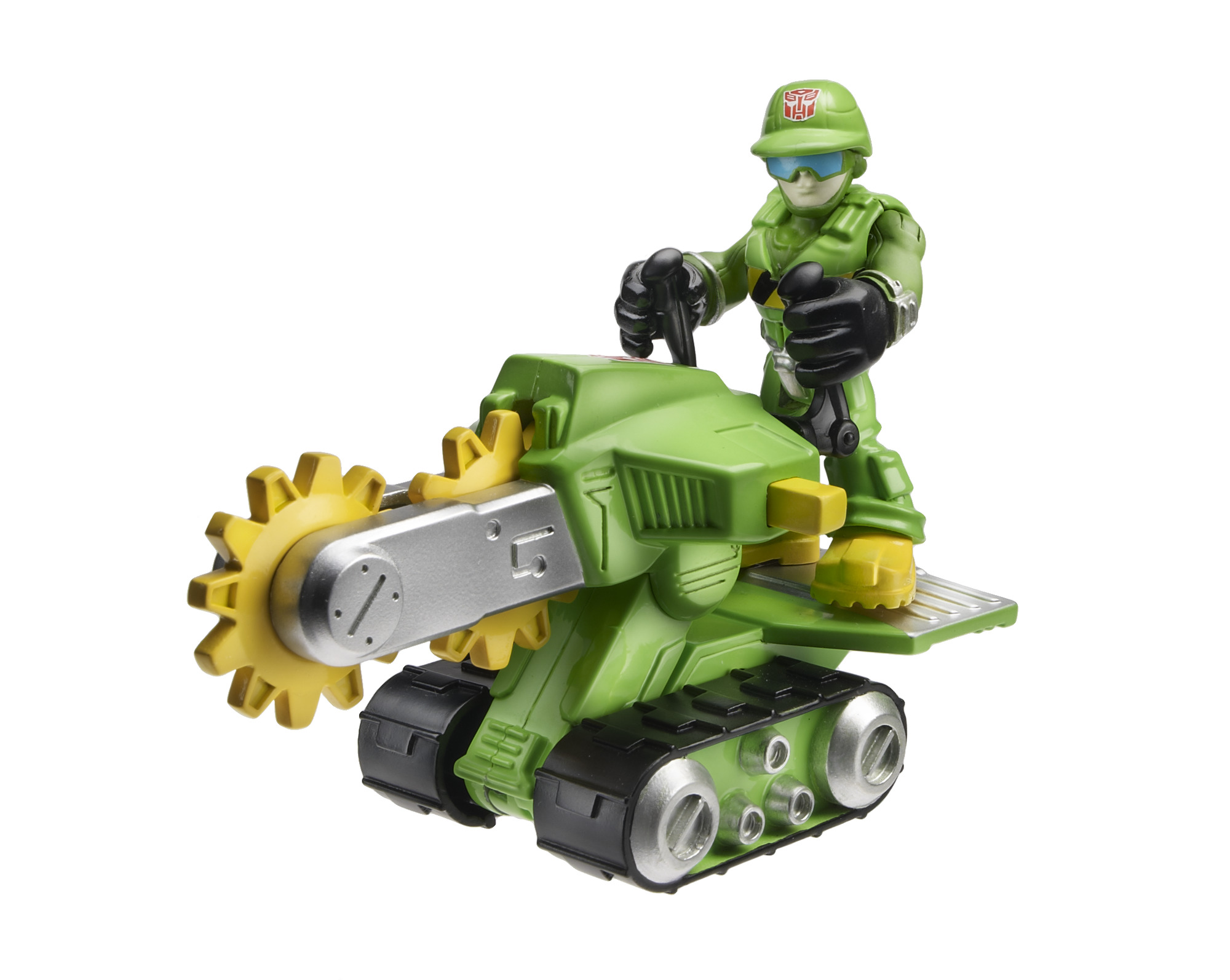 Playskool Heroes Transformers Rescue Bots Walker Cleveland and Rescue Saw by Hasbro