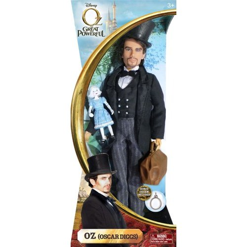 Disney Oz the Great and Powerful Oz Doll with China Girl Doll