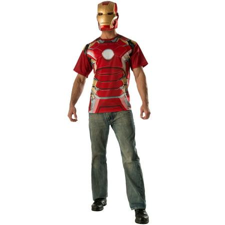 Iron Man Mark 43 T-Shirt Adult Costume