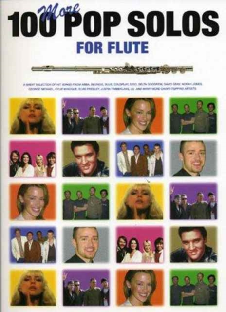 100 More Pop Solos for Flute (Paperback) by