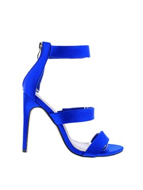 fb0f9950dc4 Product Image Womens Triple Strap Back Zipper Summer High Heel Sandals  GOLDEN-74 (5 1