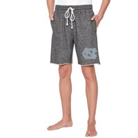 North Carolina Tar Heels Concepts Sport Pinpoint French Terry Shorts - Charcoal