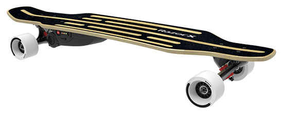Click here to buy Electric Skateboard Longboard by Razor.