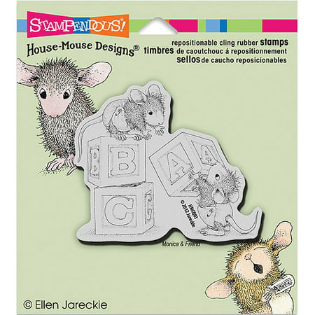 Stampendous House Mouse Cling - House Mouse Rubber Stamps