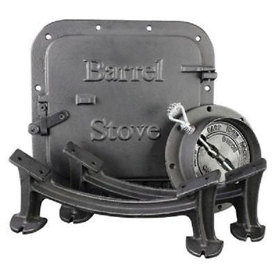 NEW US STOVE BSK1000 WOOD BURNING REGULAR STOVE BARREL STOVE KIT 1204544