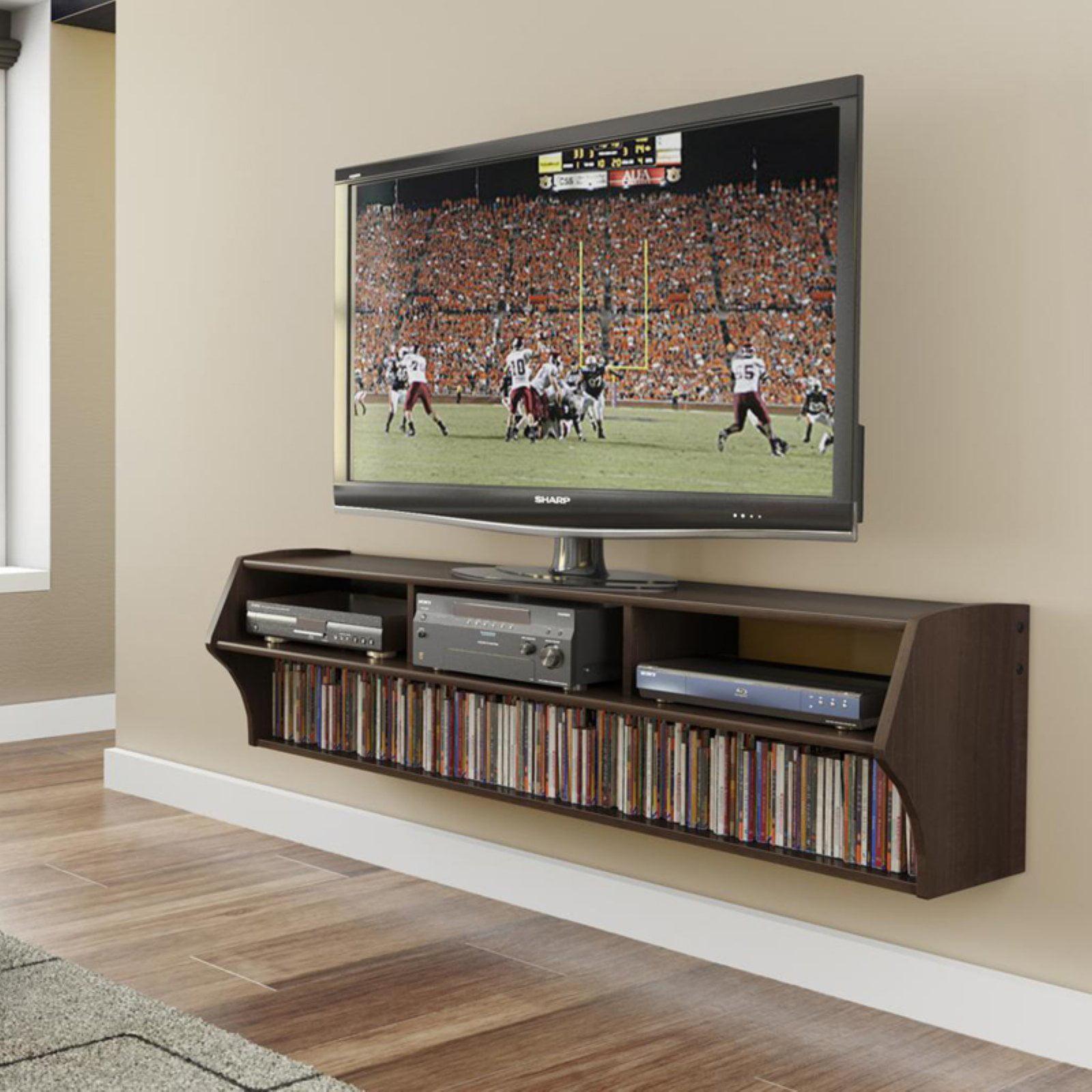 Altus plus floating tv stand for tvs up to 60 walmart com