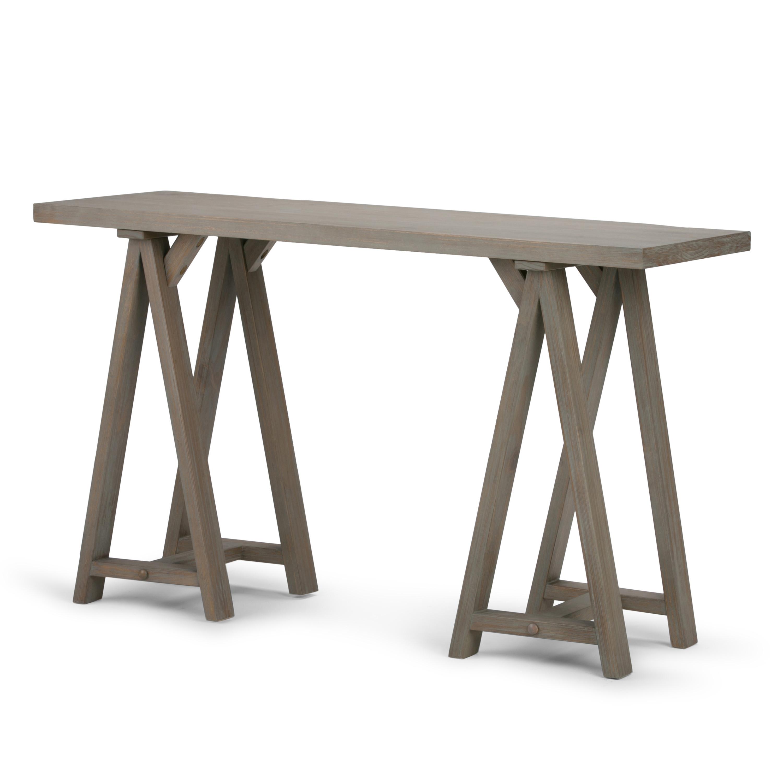 Brooklyn + Max Spokane Solid Wood 50 inch Wide Modern ...
