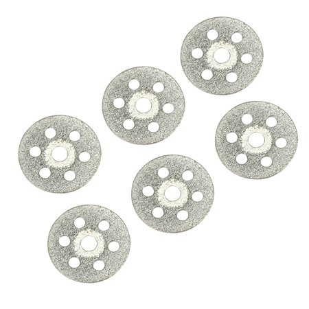 - 16mm Diamond Glass Saw Cutting Cut Off Discs Wheel 6pcs