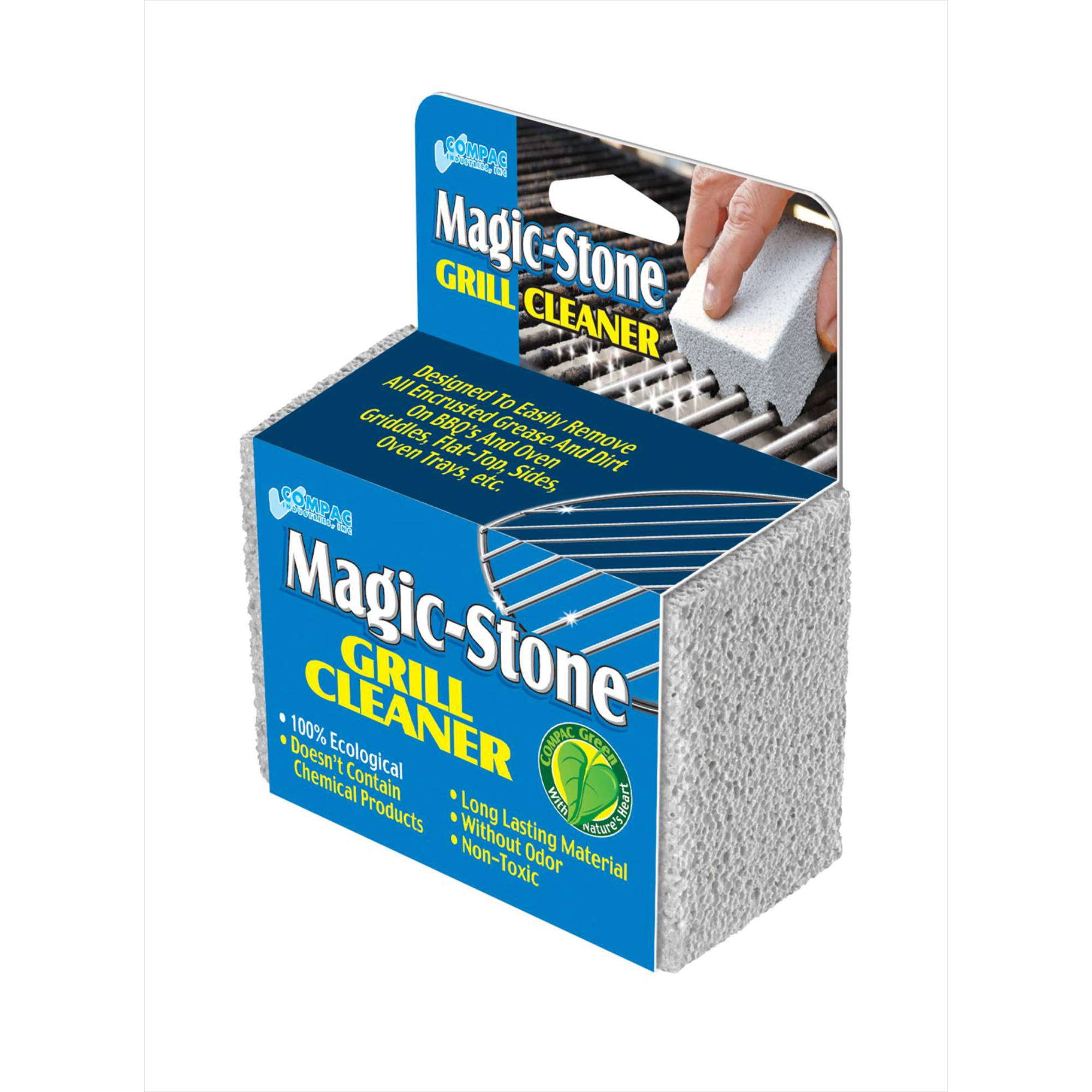 Magic-Stone Grill Cleaner