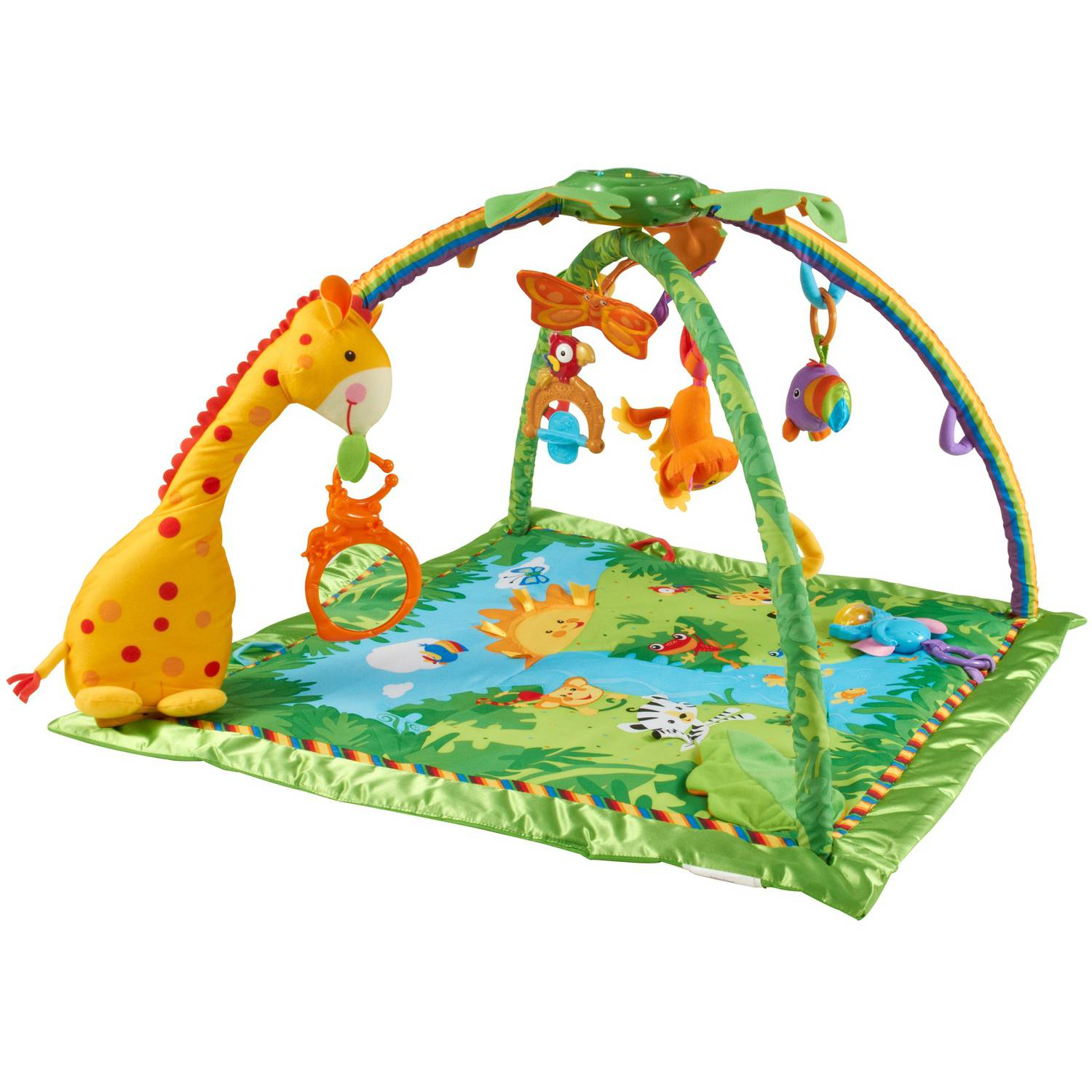 Fisher-Price - Rainforest Melodies & Lights Gym