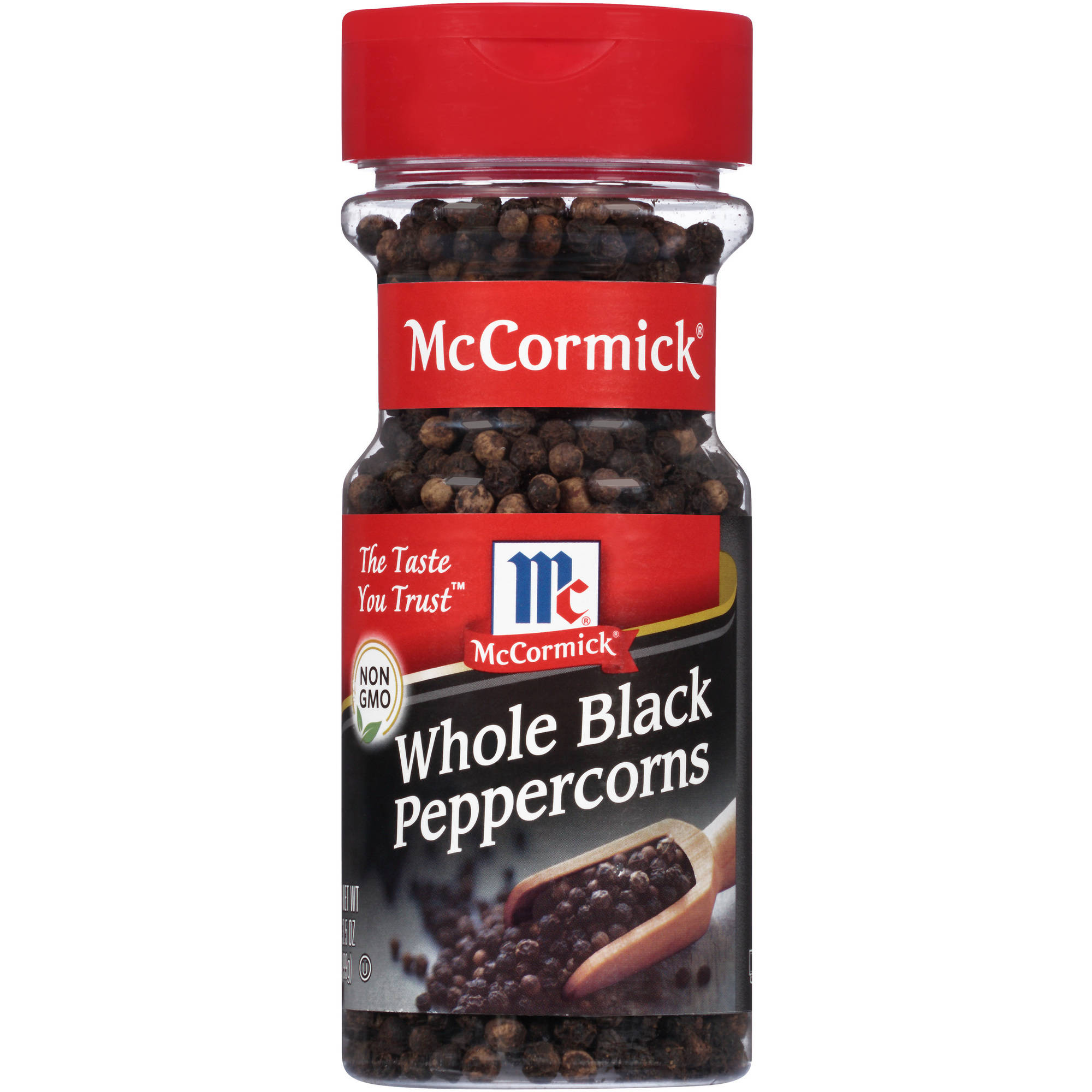 McCormick Whole Black Peppercorns, 3.5 oz