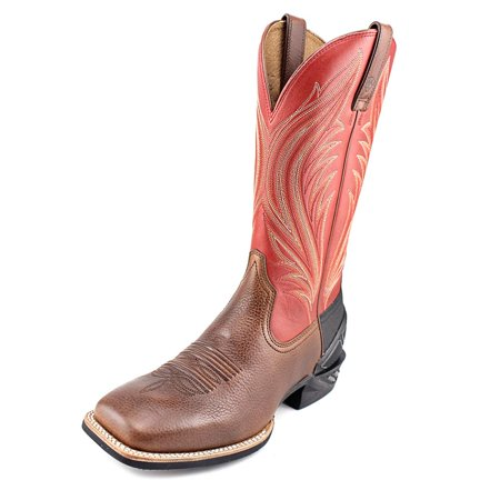 Ariat Catalyst Prime Men  Square Toe Leather Brown Western Boot