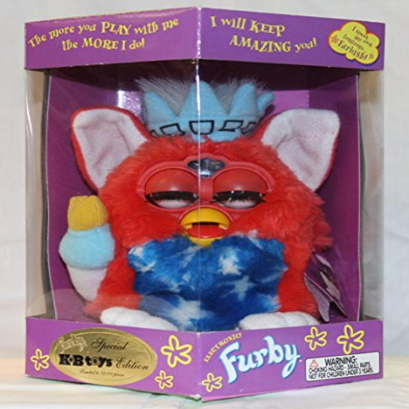 Statue of Liberty Furby Model 70-893 KB Toys Special Edition Electronic Furbie by