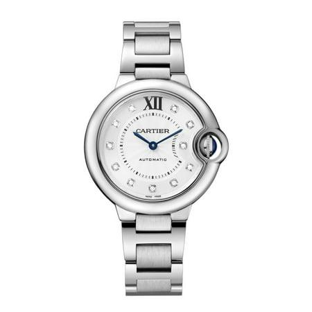 New Cartier Ballon Bleu Diamond Dial  Ladies Watch Ref WE902074 ()