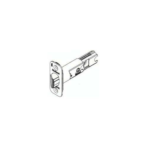 Kwikset 82247 RCAL Adjustable Backset Entry Deadlatch
