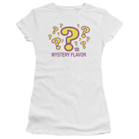 Dum Dums Mystery Flavor Juniors Short Sleeve Shirt