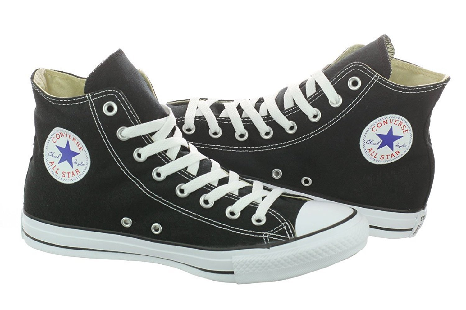 Converse  Chuck Taylor All Star High Top Shoe, Black, 6.5 M US