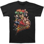 Street Fighter Men's  STFTR Slim Fit T-shirt Black