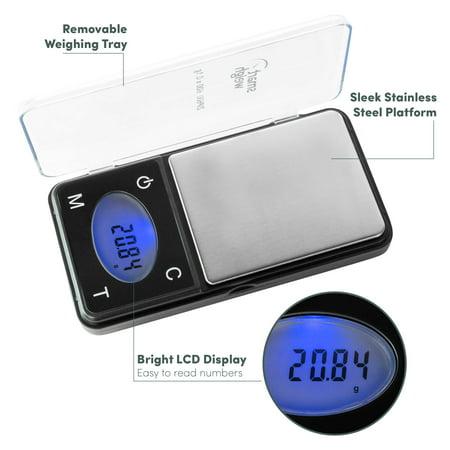 Smart Weigh Ultra Slim 600g x 0.1g Pocket Digital Jewelry Herb Gram Scale