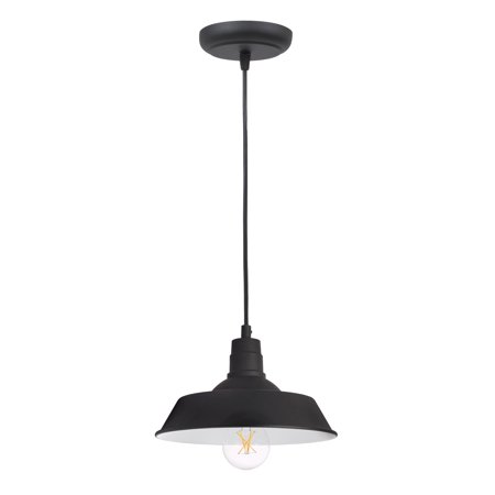 SYLVANIA Hudson Factory Pendant Light, LED, Dimmable