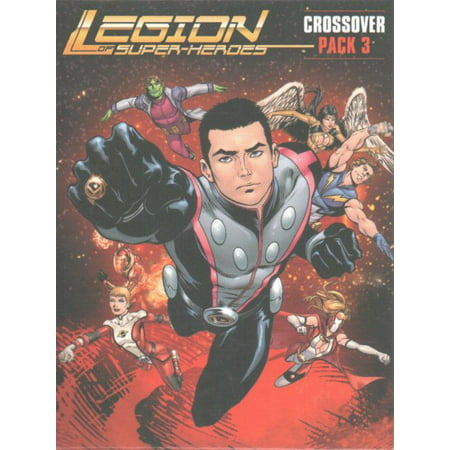 DC Comics Deck Building Game Crossover Expansion Pack 3 Legion of Super-heroes