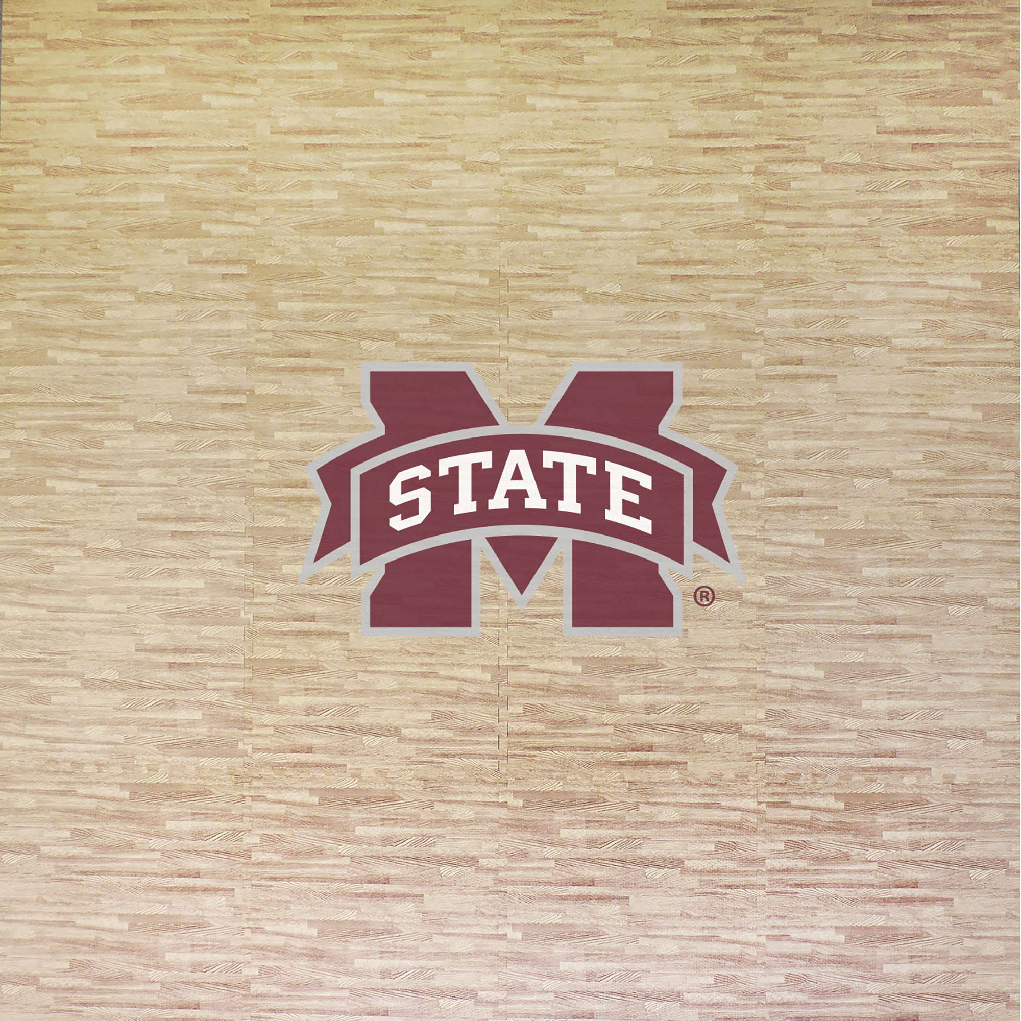 Mississippi State University Portable Foam Puzzle Tailgate Floor Mat by