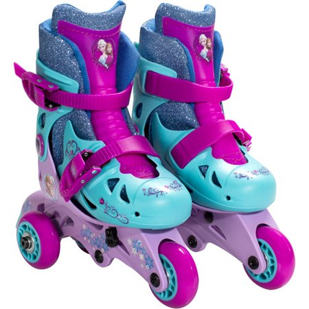 Disney Frozen Convertible 2-in-1 Kids Skates, Junior Size 6-9