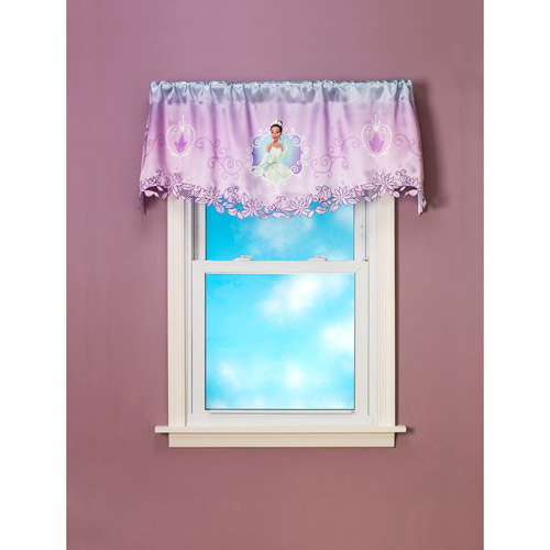 Disney Princess and the Frog Fairy Tale Dreams Pole-Top Valance