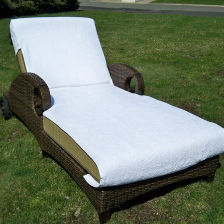 Linum home textiles chaise lounge cover for Chaise lounge covers cotton