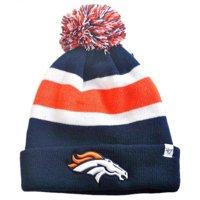 Denver Broncos Blue Breakaway Cuffed Knit Hat with Pom