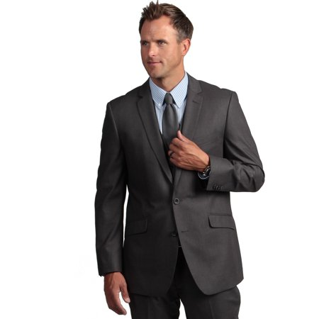 kenneth cole reaction men's grey solid suit separate jacket, grey, 42 covid 19 (Taupe Suit Separates coronavirus)