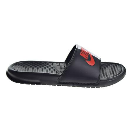 af84f10f8 Details about New Nike BENASSI JDI Men39s BlackGame RedWhite