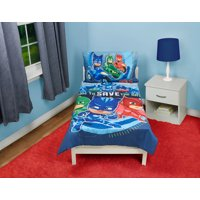 PJ Masks 4-Piece Time to Save the Day Toddler Bedding Set