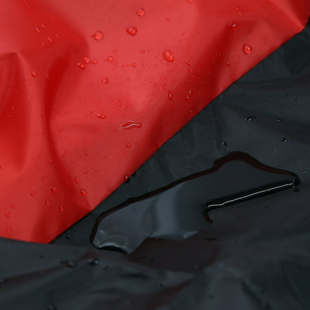 XXL Black+Red Motorcycle Cover For Honda Gold Wing GL 1000 1100 1200 1500 1800 - image 7 of 7