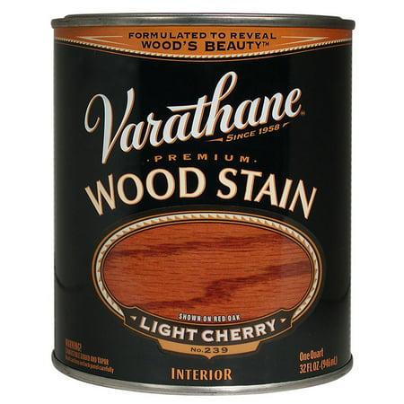 Varathane 211720h 1 Quart Light Cherry Varathane Premium Wood Stain