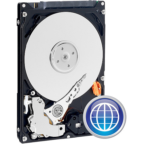 WD Blue 640 GB Mobile Hard Drive: 2.5 Inch, 5400 RPM, SATA II, 8 MB Cache - WD6400BPVT
