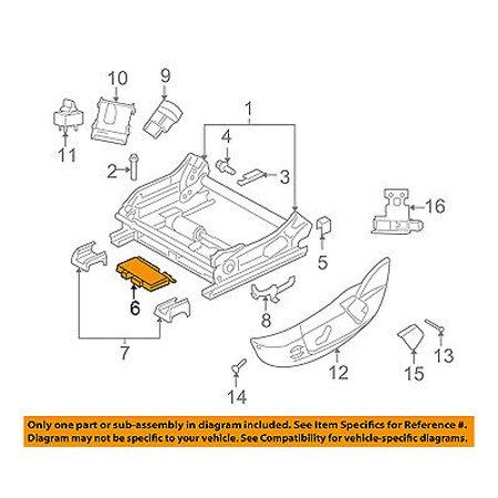 Chrysler Seat (CHRYSLER OEM Power Seat Control-Memory Module 4602799AD)
