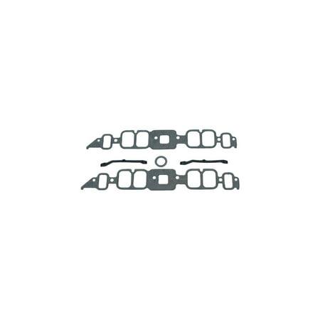 Eckler's Premier  Products 25-122237 - Corvette Mr.Gasket Intake Manifold Gasket Set With Square Port Heads Big (Big Square Head)