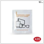 Alcohol Cleansing Wet Wipes for Cameras, Cellphones, Tablets, Eyeglasses, & Other Electronics & Optical Items by Loadstone Studio WMLS1235