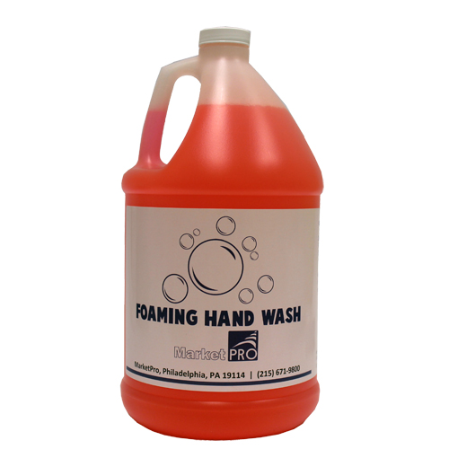 MarketPro Foaming Hand Wash, 1 Gallon, Pink | 2/Case