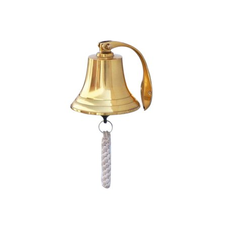 Hope Bell (Brass Hanging Harbor Bell 5.5