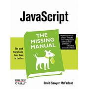 JavaScript : The Missing Manual